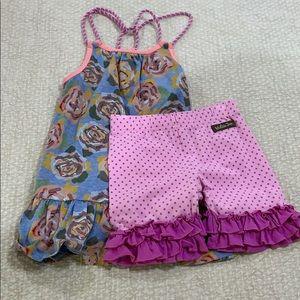Girls Matilda Jane outfit size 4